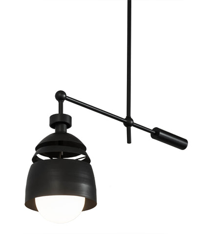 "24""L Spaccato Oblong Industrial Pendant"
