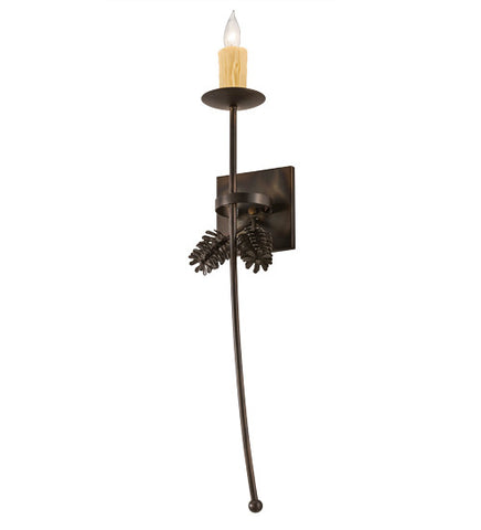 "6""W Bechar Pine Cone Wall Sconce"