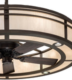 "58""W Sargent 2 Tier Chandel-Air Ceiling Fan"