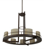 "68""W Loxley Tac Air 9 Lt Contemporary Chandelier"