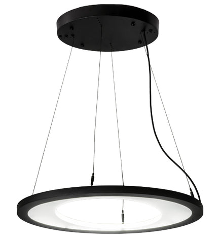 "25""L Anillo Ellipse Contemporary Oblong Pendant"