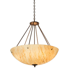 "36""W Madison Contemporary Inverted Pendant"