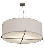 "36""W Cilindro Structure Modern Pendant"
