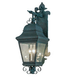 "11""W Vincente DS Bracket Lantern Outdoor Wall Sconce"