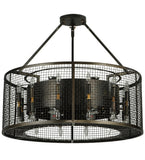"30""W Paloma Golpe 36 Lt Industrial Pendant"