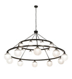 "96""W Bola Tavern 20 Lt Two Tier Contemporary Chandelier"