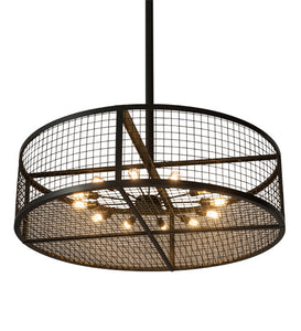 "60""W Paloma Golpe Industrial Pendant"