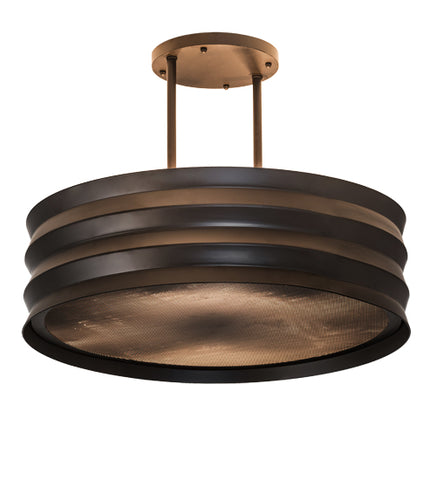"30""W Concertina Contemporary Pendant"