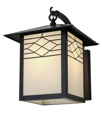 "12""W Seneca Ponte Mission Outdoor Wall Sconce"