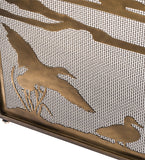 "66""W X 32""H Ducks in Flight Fireplace Screen"