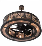 "45""W Tamarack Rustic Chandel-Air Ceiling Fan"