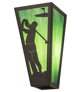 "6""W Golf Wall Sconce"