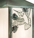 "9.25""W Seneca Hummingbird Outdoor Wall Sconce"