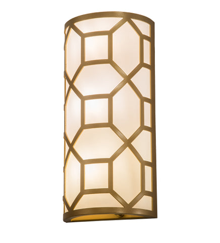 "8""W Cilindro Mosaic Modern Wall Sconce"