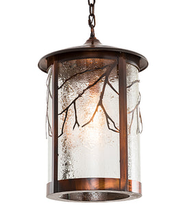"14""W Fulton Branches Lodge Outdoor Pendant"