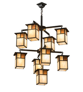"32""W Hyde Park ""T"" Mission 9 Lt Chandelier"