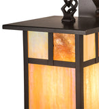 "6.5""W Hyde Park ""T"" Mission Outdoor Wall Sconce"