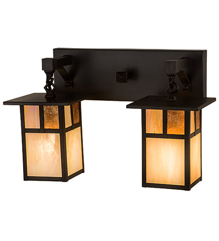 "17""W Hyde Park ""T"" Mission 2 Lt Vanity Light"