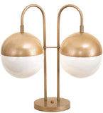 "19""W Bola Deux Contemporary Table Lamp"