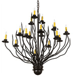 "42""W Sycamore 16 Lt Contemporary Lodge Chandelier"