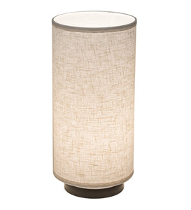 "8""W Cilindro Textrene Fixed Mount Modern Table Lamp"