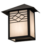 "9""W Seneca Ponte Mission Outdoor Wall Sconce"