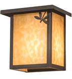 "8""W Seneca Dragonfly Outdoor Right Wall Sconce"