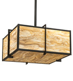"24""Sq Martis Contemporary Inverted Pendant"