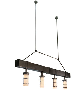 "144""L Cilindro Cityplace Kitchen Island Lighting"