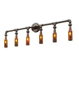"48""W PipeDream Bottle Industrial Wall Sconce"