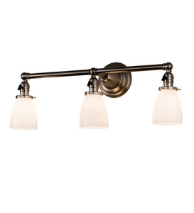 "25""W Revival Goblet 3 Lt Modern Vanity Light"