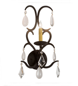 "10""W Alicia Glam Wall Sconce"