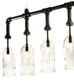 "75""L PipeDream Bottle Island Pendant"
