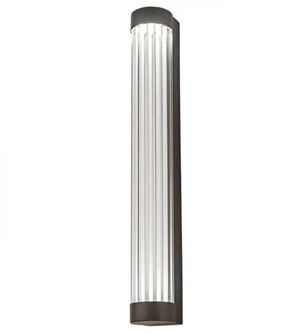 "4""W Cilindro Pipette Contemporary Wall Sconce"