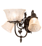 "15""W Revival Summer Wheat 3 Lt Wall Sconce"