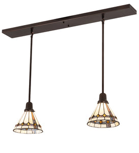 "39""L Belvidere 2 Lt Kitchen Island Lighting"