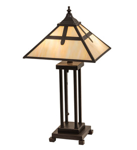 "24""H Cross Mission Table Lamp"