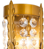 "6""W Chrisanne Crystal LED Glam Wall Sconce"