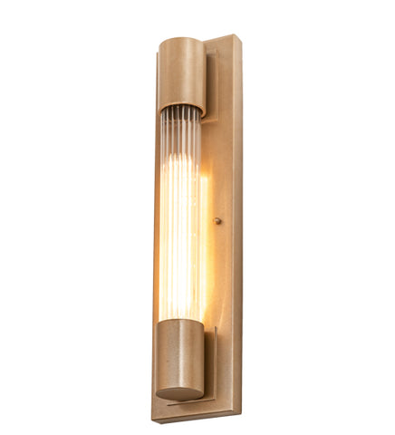 "4.5""W Cilindro Pipette Modern Wall Sconce"