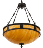 "28""W Capella Inverted Pendant"