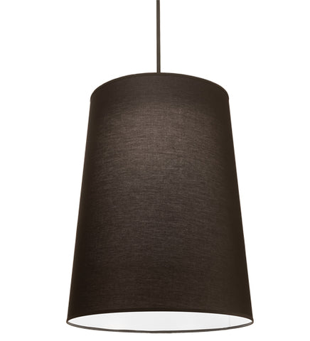 "30""W Cilindro Tapered Modern Pendant"