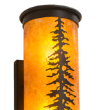 "5.5""W Tall Pines Rustic Wall Sconce"