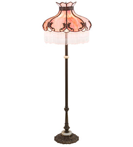 "62""H Elizabeth Fringed Floor Lamp"