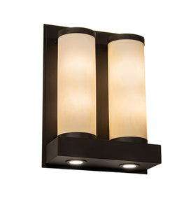 "18""W Legacy House 4 Lt Modern Wall Sconce"