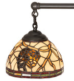 "30""W Pinecone Dome 5 Lt Chandelier"
