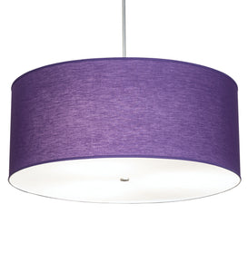 "36""W Cilindro Textrene Modern Pendant"