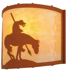 "11""W Trail's End Southwest Wall Sconce"
