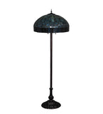 "62""H Tiffany Candice Floor Lamp"