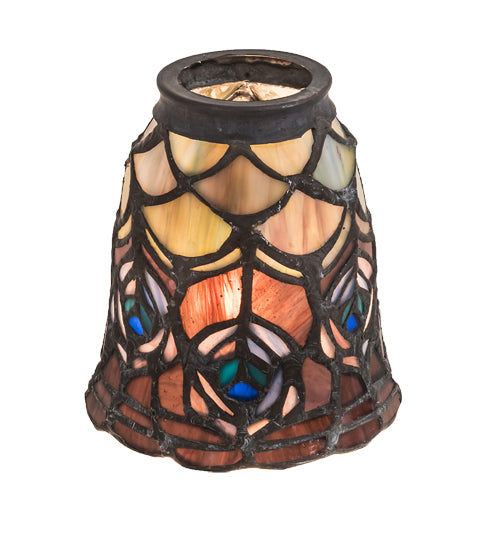 Ceiling Fan Tiffany Lamp Shades Smashing Stained Glass Lighting