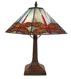 "15.5""H Prairie Dragonfly Accent Lamp"